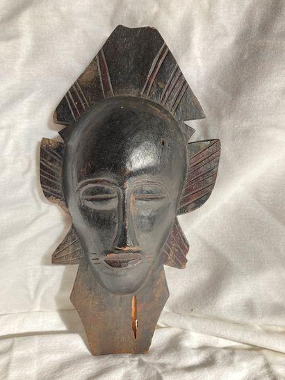 Masque de type kpelie Senoufo, Côte d'lvoire...