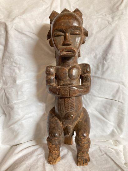 Statue de type figure de reliquaire Fang,...