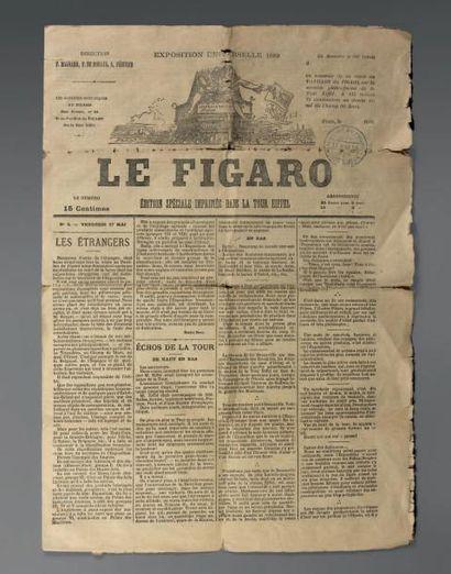 Numéro du Figaro du 17 mai 1889, édition...