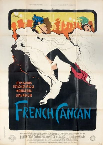 French Cancan. Film. 1955. Affiche. Fra....