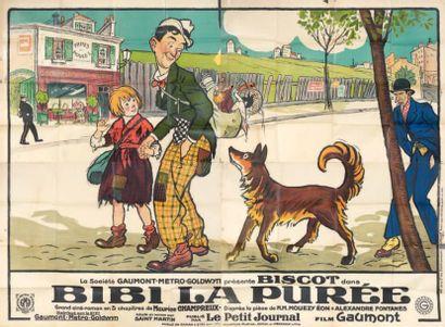 Bibi la Purée. Film. 1925. Affiche. Fra....
