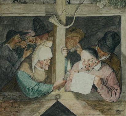 CORNELIS DUSART (1665-1704)