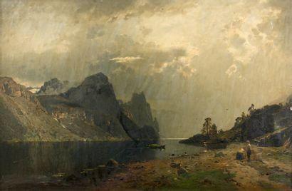 GEORG ANTON RASMUSSEN (1842 - 1914)