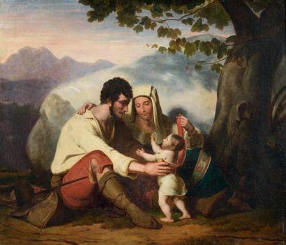 ÉCOLE ITALIENNE VERS 1830/1840