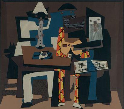 PABLO PICASSO (1881 - 1973), d'après