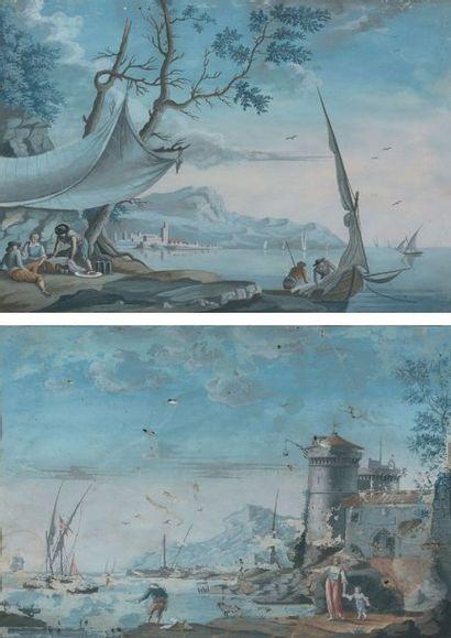 ECOLE FRANÇAISE ou ITALIENNE du XVIIIe siècle