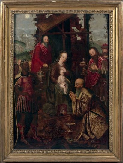 ÉCOLE FLAMANDE VERS 1500, SUIVEUR D'ADRIAEN ISENBRANDT