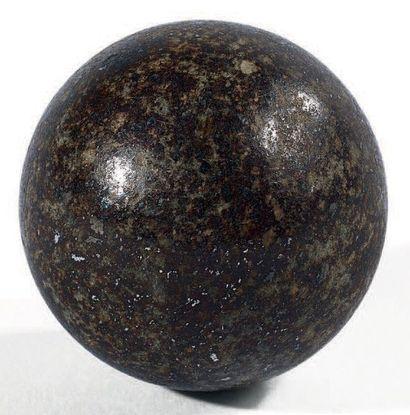 NWA 869 L3-6 Sphère polie. C'est un bloc...