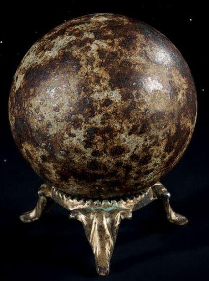 NWA 869 L3-6 Sphère polie remière découverte...