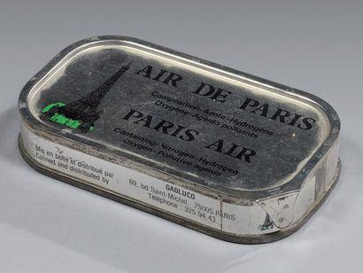 BOÎTE DE CONSERVE D'AIR DE PARIS PARIS AIR...
