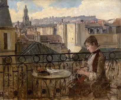 ÉCOLE FRANÇAISE, vers 1875/1877
