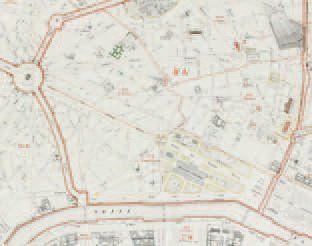 Georges Eugène HAUSSMANN (Baron) Atlas administratif des vingt arrondissements de...