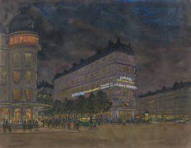 École française, vers 1920.