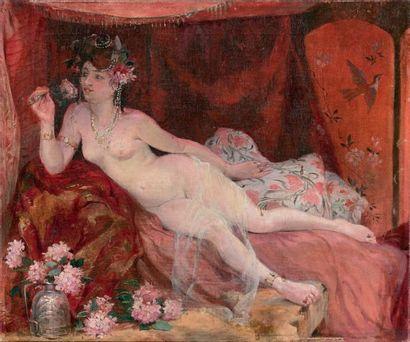 ÉCOLE FRANÇAISE<br/>Fin du XIXe siècle