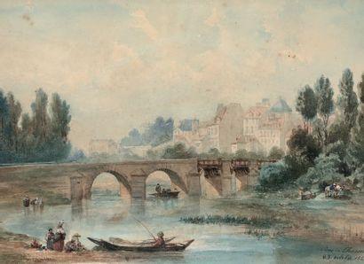 ÉCOLE FRANÇAISE du milieu du XIXe siècle