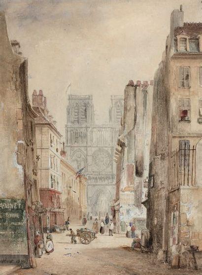 FRANÇOIS ÉTIENNE VILLERET (c.1800 - 1866)