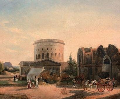 AUGUSTE-XAVIER LEPRINCE (1799-1826) (suiveur de)
