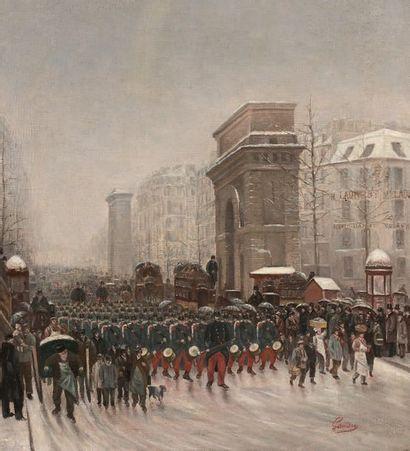 GAUDRY, ÉCOLE FRANÇAISE DE LA FIN DU XIXe SIÈCLE