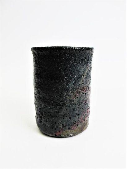 ERIKSEN Gutte (1918-2008) Vase cylindrique...