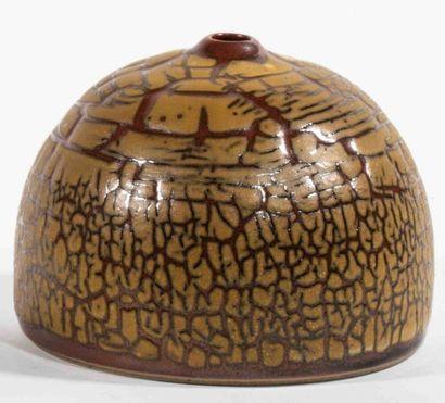 GROUITCH Leïlah (née en 1945) Vase demi-sphérique...