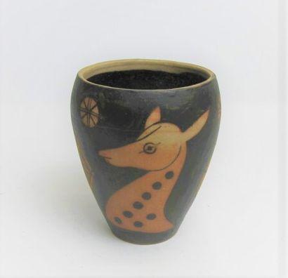 VILOTTE Etienne (1881-1957) - CIBOURE Vase...