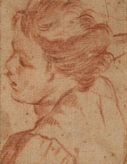 École italienne XVIIIème siècle. (?) Profil...