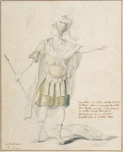 Attribué à Philibert Louis DEBUCOURT (1755-1832)...