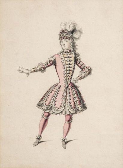 Attribué à Jean II BERAIN. (1674-1726) Maquette...
