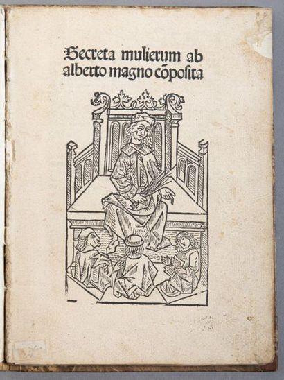 ALBERTO MAGNUS. Secreta mulierum. S.l.n.d....