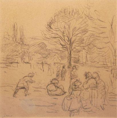 Maximilien LUCE (1858-1941) L'après-midi...