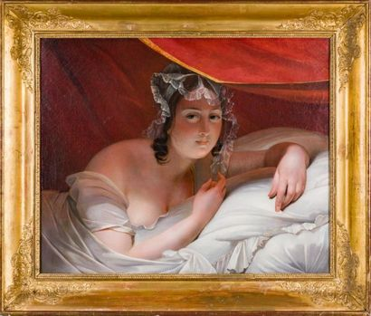 Entourage de Claude-Marie DUBUFE (1790- 1864)...