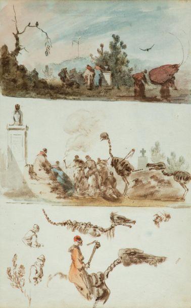 Charles-Frédéric SOEHNEE (1789-1878) Fantasmagorie...