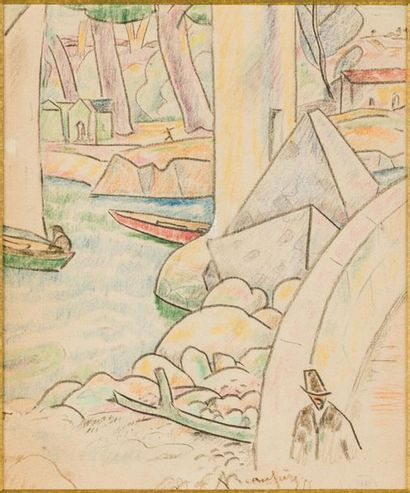 Adolphe Marie BEAUFRÈRE (1876-1960) Petit...