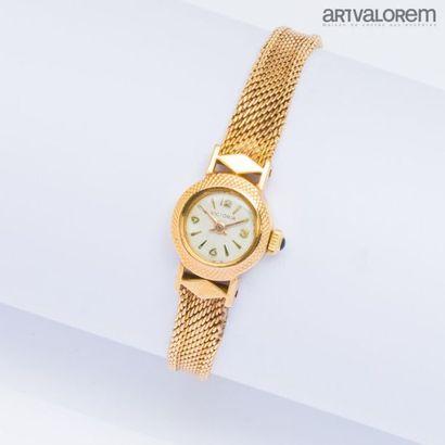 VICTORIA Montre bracelet en or jaune 750°/°°,...