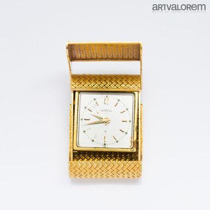 Armature de réveil en or jaune 750°/°° à...