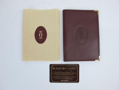 CARTIER Must de Cartier  Porte-passeport...