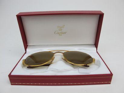 CARTIER Must de Cartier  Paire de lunettes,...