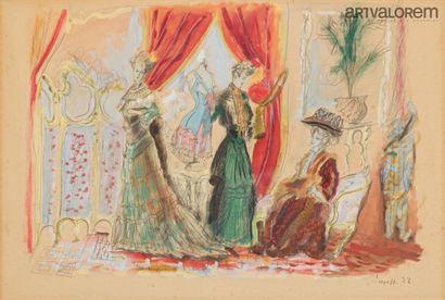 ARAPOFF Alexis Paul (1904-1948)  Chez la...