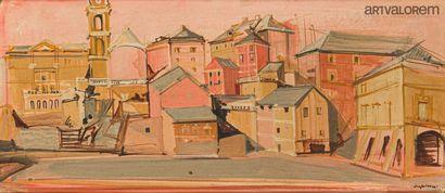 DESPIERRE Jacques (1912-1995)  Ville d'Italie...