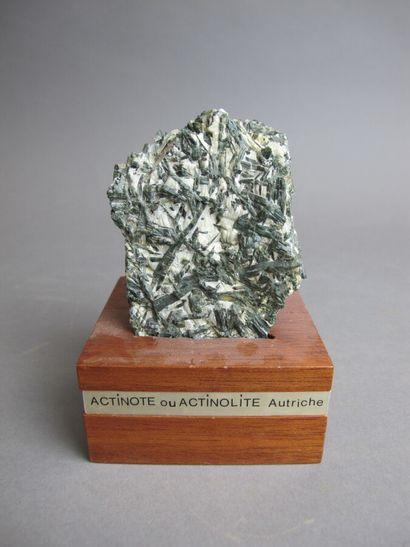 Cristaux d'Actinote d'Autriche  H. 10 cm...