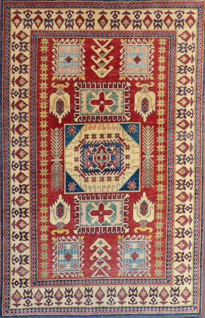 Grand Kazak (Caucase du sud) vers 1980.  Velours...