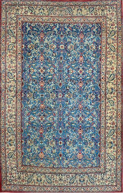 Grand et fin Nain Toudech (Iran) laine et...