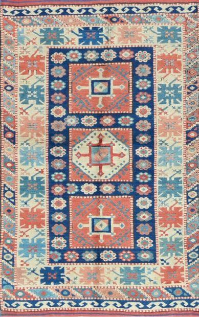 Kars (Turquie) vers 1975  Velours en laine...