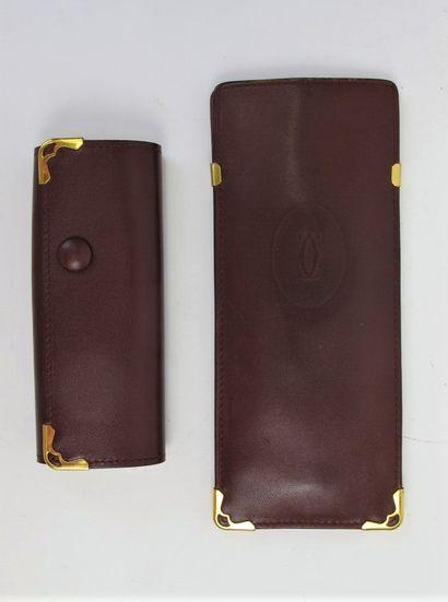 CARTIER Must de Cartier  Etui à clés en cuir...
