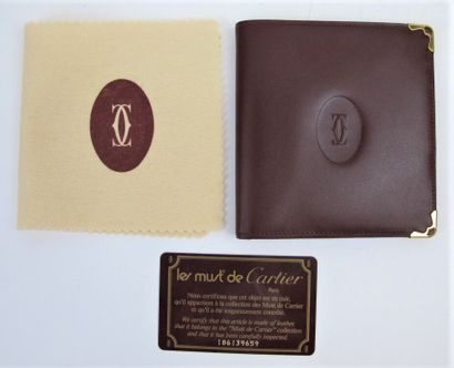 CARTIER Must de Cartier  Portefeuille en...