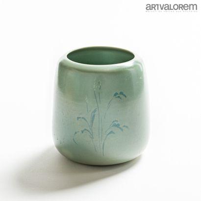 HERMANS Valérie (née en 1959)  Vase tronconique...