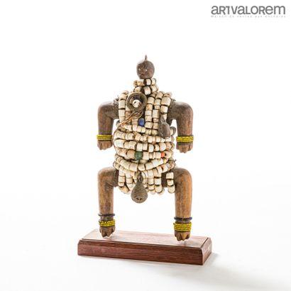 Poupée de fertilité NAMJI (Cameroun) en bois...