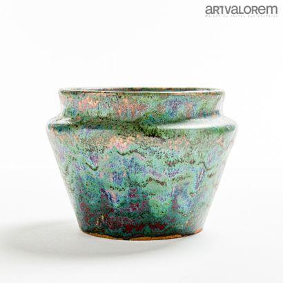PIERRE-ADRIEN DALPAYRAT (1844-1910)  Vase...