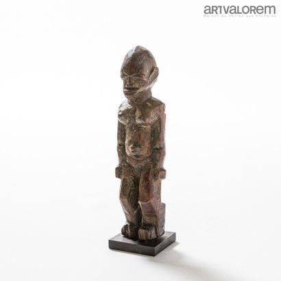 LOBI (Burkina Faso).  Statuette anthropomorphe...