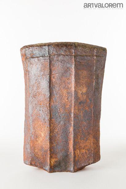 BROSSARD Gérard (né en 1950)  Sculpture rectangulaire...